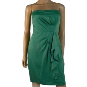 "🆕 BCBG ""Larre"" Green Dress - Women's Size 10P"